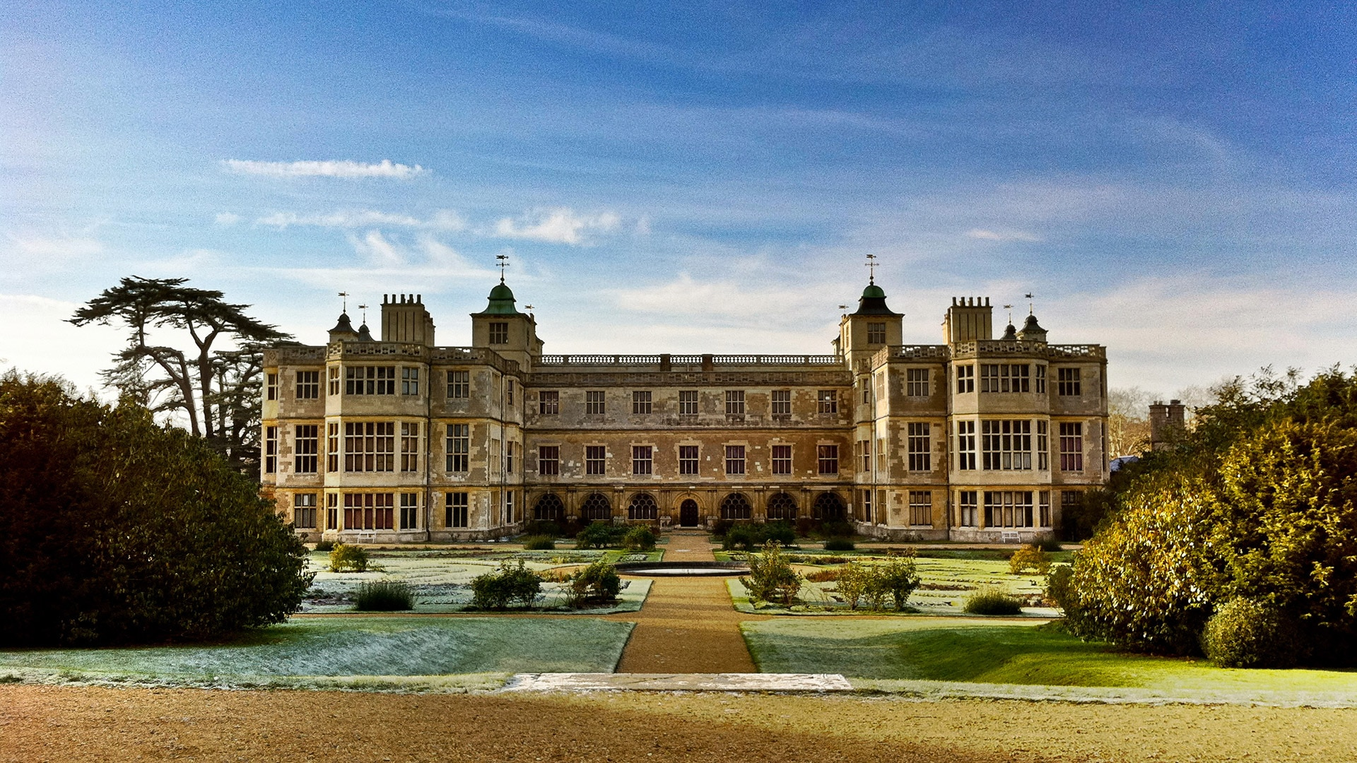Audley End House and Gardens, Saffron Walden, Essex, England